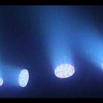 4x PAR 56 LED Spot