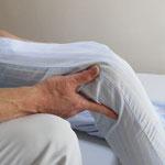 ひざ痛の施術写真
