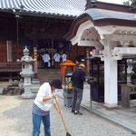 第3番札所金泉寺清掃