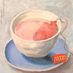frau jenson, Illustration, In the mood for – tea
