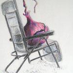 frau jenson, Illustration, Sonnenbräterin