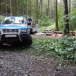 Das wichtigste Werkzeug bei mir ist mein 20 Jahre alter Ford Ranger,