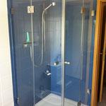 Dusche Glas ESG, Duschtrennwand, Glasdusche, GSK Worm GmbH