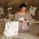 Francine prépare une nouvelle structure