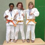 Bronze, Silber und Gold für die U12-Amazonen