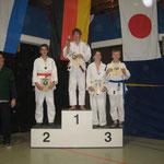 - 55kg U15 m: 1. Halvar Braun (SG Gierath), 2. Maximilian Andler (SG Gierath), 3. Tim Engbrocks (SG Dülken) und Lucas Kuiperij (Budokai Venlo)
