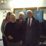 Georges CHALFOUN avec Monsieur DECAUX, maire e Brétigny sur Orge
