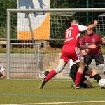 Endspiel zwischen der SG Niederklein/ Langenstein und dem FSV Buchenau