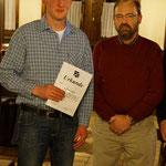 Andi Schmitt wurde für seine Mitgliedschaft über 25 Jahre geehrt