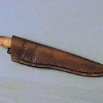 Steckscheide für ein Moki, leicht punziert