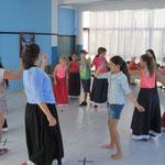 grupo teatral escolar Santiago Apóstol, curso 2014-2015