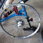 Ein wirklich neuwertiges hinteres Laufrad! :)