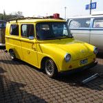 """Der """"Fridolin"""", welcher damals von VW ursprünglich für die östereichische Post gebaut wurde."""