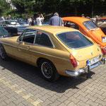 MG B GT mit V8, ein kleiner Underdog mit coolem Klang und Bums!