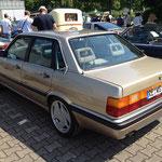 Treser-Felgen auf einem 90er Audi