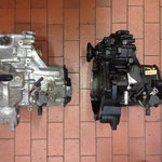 """Meine beiden 02A Getriebe, einmal """"CES"""" (Schwarz lackiert) und einmal ein """"CTM"""""""