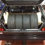 Großer Kofferraum...
