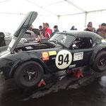 Die AC Cobra mit #94, der Siegerwagen des ersten Rennens.
