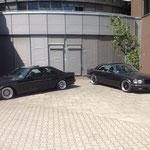 2 x Mercedes 560 SEC...
