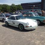 """Der """"RS"""", ob dies ein Echter war, ließ sich nicht feststellen, leider gibt es heutzutage wesentlich mehr """"RS"""", als Porsche jemals gebaut hat..."""