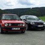 """Meine beiden """"Sommer-GTIs""""! :)"""
