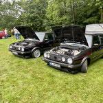 Motorraum-Show von Dennis und Dieter... :)