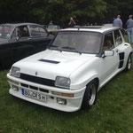 Dicke Backen mal wörtlich, ein Renault 5 Turbo 2