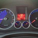 Start bei fast 90.000 km...