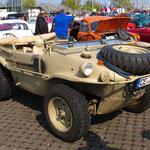 Weltkrieg-II-Schwimmwagen VW 166