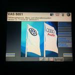 Startbildschirm mit Softwaredatenstand aus 2011...