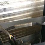 Auch am neuen Schloßträger gab es die Schaumstoffpuffer, die ein Vibrieren des Grills bei Leerlauf verhindern. ;)