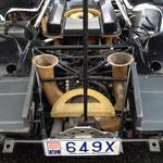 Man beachte das Kennzeichen! Dieser 917 hat eine legale Stassenzulassung in Monaco!!!