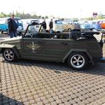 VW 181 mit coolem Decal...