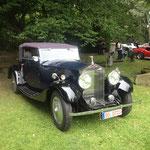 Ehrwürdiger alter Rolls-Royce mit 6 Zylinder 60 PS - Motor