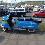 Heinkel-Tourist-Motorroller...