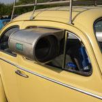 Umweltfreundliche Klimaanlage aus den 40er / 50er Jahren! Mit Eiswürfeln betrieben...