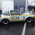 bb Rainbow Porsche Turbo Targa