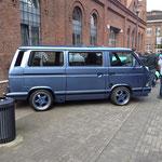 """Der T3 """"Multivan"""" Bus von Heinz."""