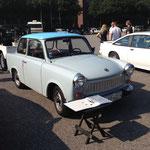 Ein Trabant 601 darf ehrlich gesagt auch nicht fehlen, er ist schließlich ein Stück deutscher Automobil-Geschichte!