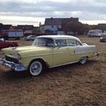 """Chevrolet Bel Air von 1955 mit """"Continental-Kit"""" am Heck!"""