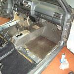 Klar, dass dieser Innenraum genauso gründlich gereinigt wurde, wie später beim GTI 16V...