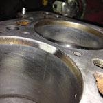 Brennraum 3 Zylinder