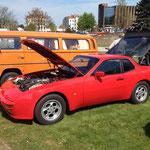 Ein echt gut restaurierter 944 der ersten Serie!
