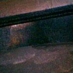 Brennraumbereich in dem man die Zylinderkopfdichtung sehen kann.