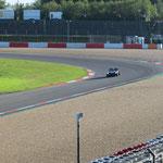 Hier der spätere Sieger des Rennens: eine wunderbar gut laufende 63er AC Cobra!