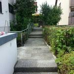 Neusetzung einer kompletten Treppe