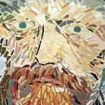 """Pormenor """"Auto-Retrato de Van-Gogh"""" - 56x42 cm"""