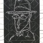 """""""Fernando Pessoa"""" - 52x42 cm"""