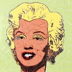"""Marilyn Monroe"" - 30x30cm"
