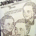 """António Paulouro Fundador do jornal do Fundão"" - 56x42 cm"